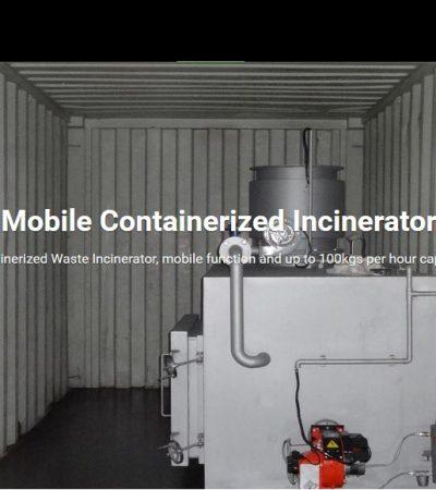 incinerator Model TS150