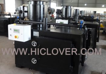 30kgs medical waste incinerator Model TS30 PLC