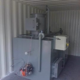 Containerized Incinerator Model CA30 from HICLOVER