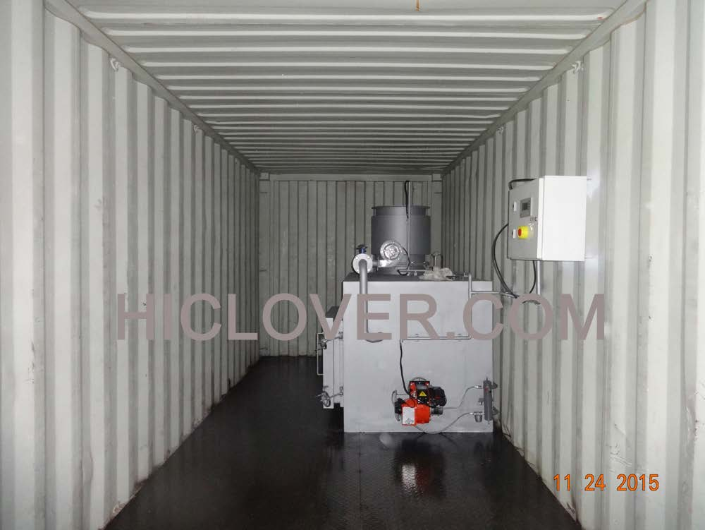 Containerized Mobile Incinerator CA100