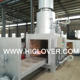 Animal Crematory with Movable platform & Auto. Door & Independent Position