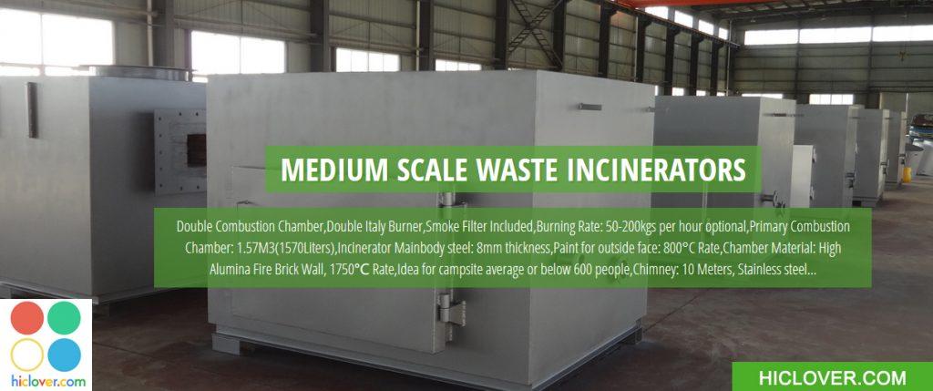 Medium Scale Solid Waste Incinerator