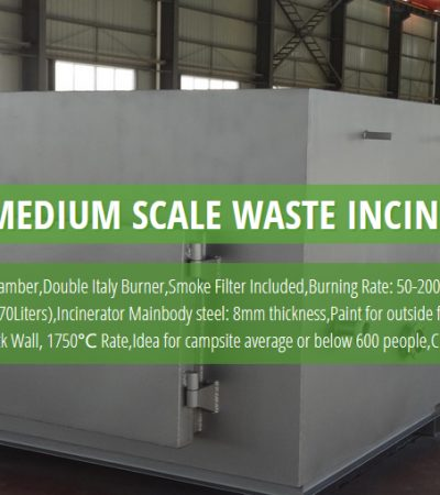 Medium Scale Solid Waste Incinerator