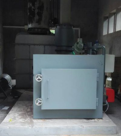 Containerized Mobile Type Medium Unit Waste Incinerator