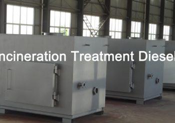 Waste Incineration Treatment Diesel Oil type Model TS150