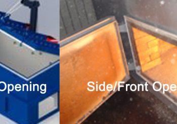 Waste Incinerator Door: Side/Front Opening Door VS. Top Opening Door