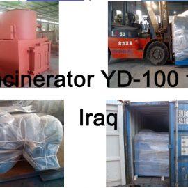 Incinerator YD-100 for Iraq