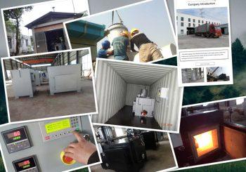 Medical Waste Incinerator Capacity Average 100kgs per hour