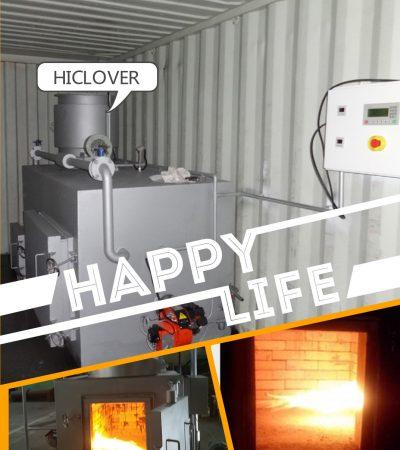 Hiclover waste incinerator