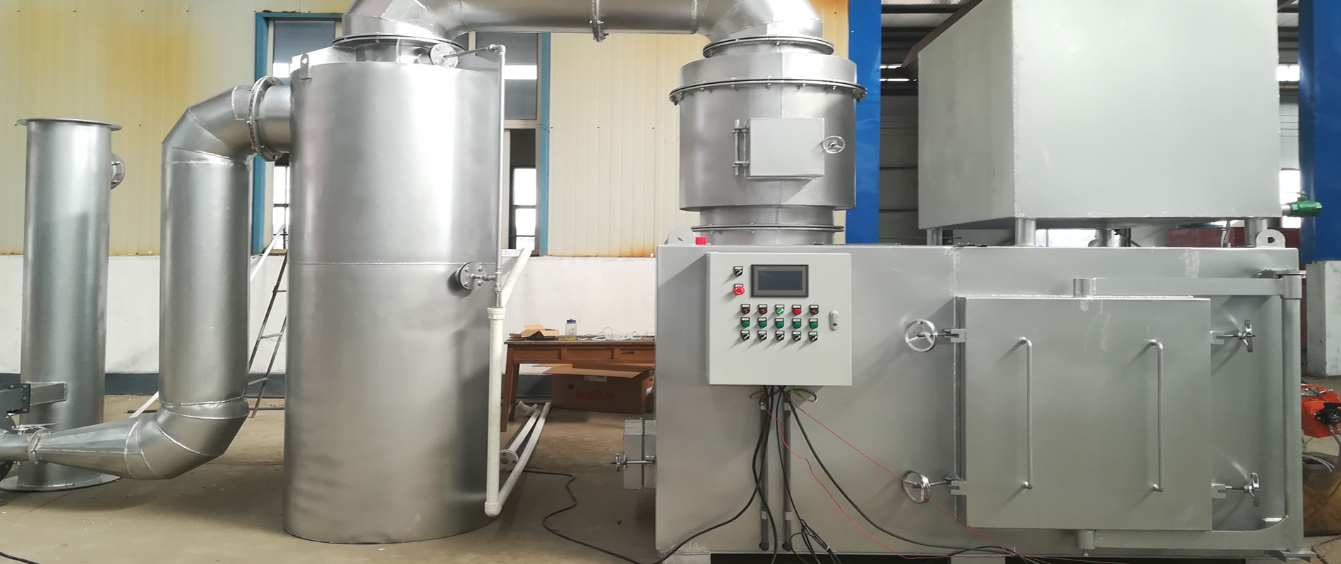 Medical Waste Incinerator for Coronavirus Disease(COVID-19)