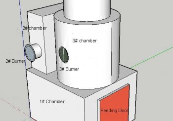 Three Combustion Chambers MEDICAL WASTE INCINERATOR