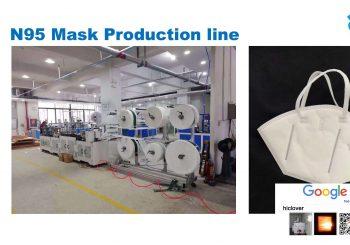 N95 Face Mask Machine Production Line on Sale Now! $250,000USD per set
