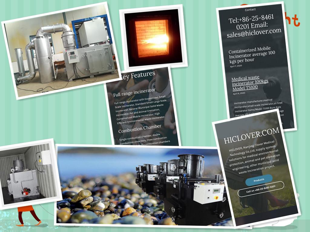 Medical Waste ncinerators for Hospital 10-500kgs per hour