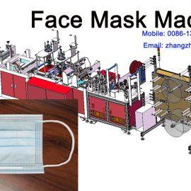 Medical Surgical Face Mask Machine for Coronavirus Disease COVID-19