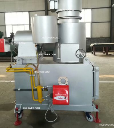 HICLOVER Incinerator mobile small With Wheel and Brake