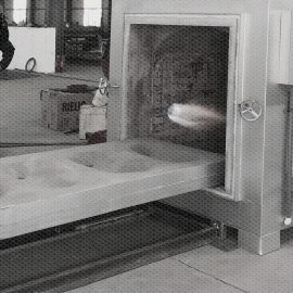 Incinerator with Movable platform & Auto. Door and Design for Pets Human Cremation Business