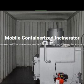 Pre-assembled containerized type Incinerator