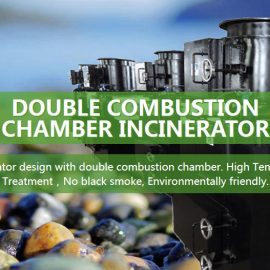 30 kgs medical waste incinerators for covid19 waste