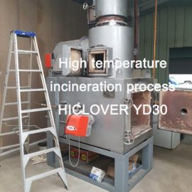 High Temperature Incineration Process HICLOVER YD30