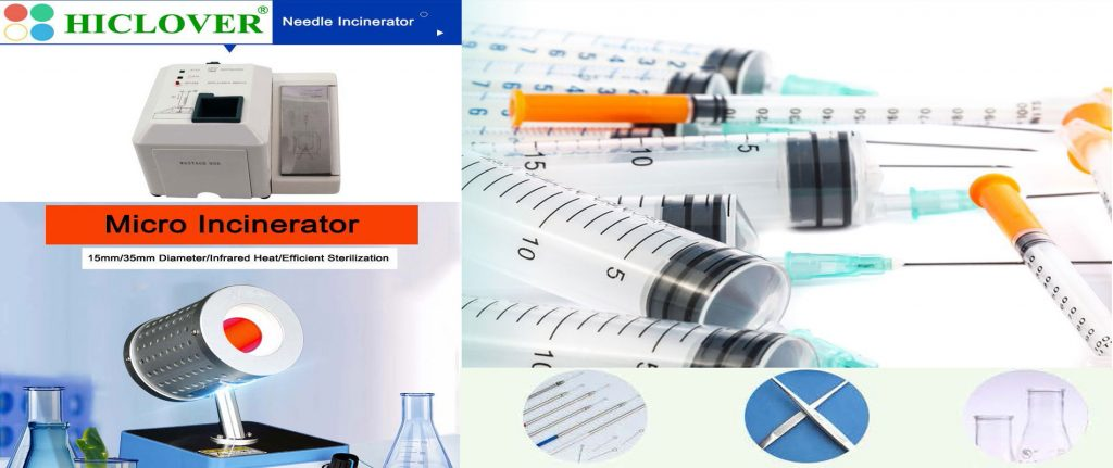 Needle Incinerator(Needle & Syringe Destroyers) and Micro Incinerators