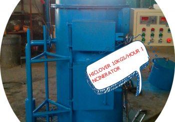Smallest Waste Incinerator for PPE waste face mask glove waste