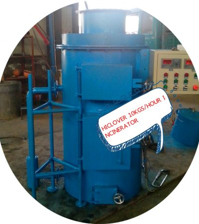 Smallest Waste Incinerator for PPE waste face mask glove waste