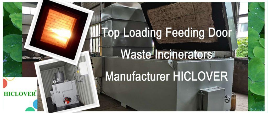 Waste Incineration Treatment Model TS1000 1000kgs per hour Top Feeding