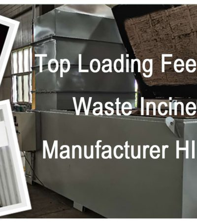 Waste Incineration Treatment Model TS1000 1000kgs per hour Top Feeding