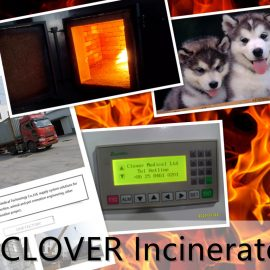Garbage Incinerator TS150 PLC Mobile Type