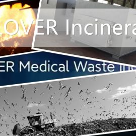 Incinerator for Waste Management Facility and Spare Parts