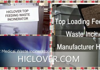 what are the main products of incineration process