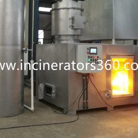 modern medical waste burning machine