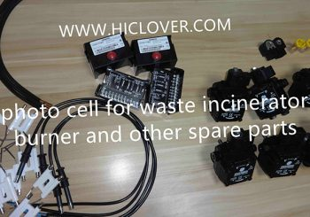 photo cell for incinerator burner spare parts