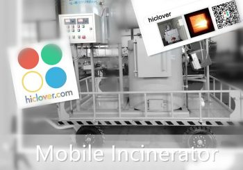 treatment of clinical waste using the incinerator