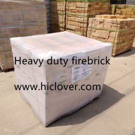 Heavy duty firebrick for incinerator chamber