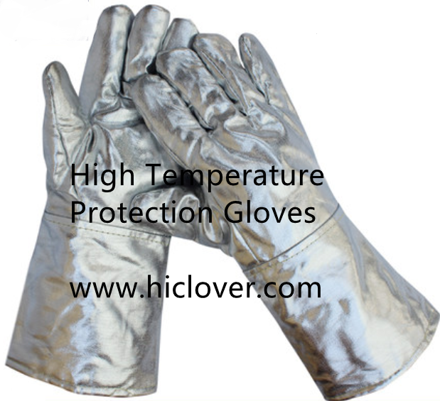 High Temperature Protection Gloves and High Temperature Protection Masks for incinerator operation