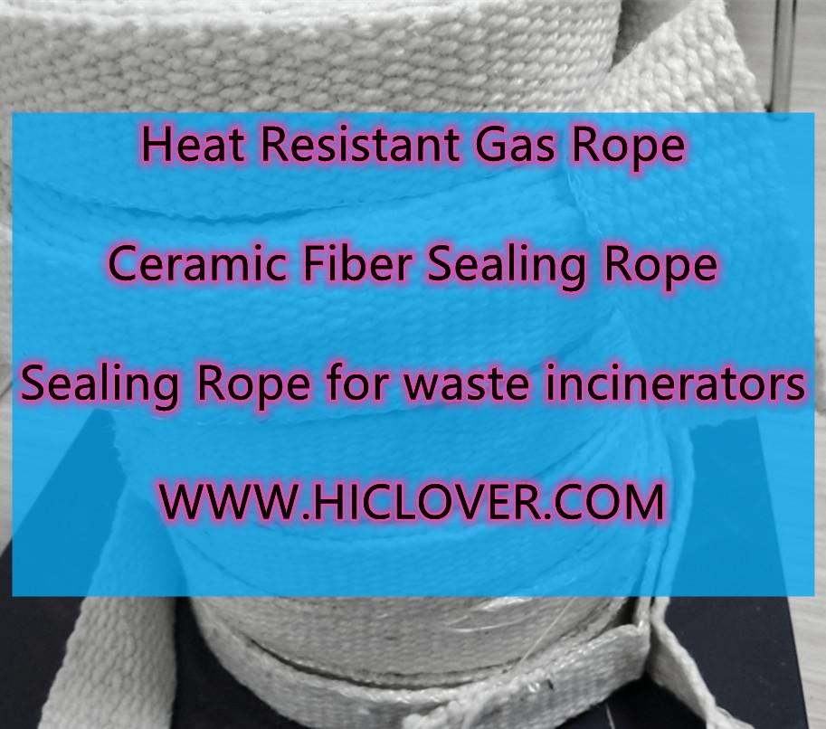 Sealing Rope for waste incinerators Heat Resistant Gas Rope