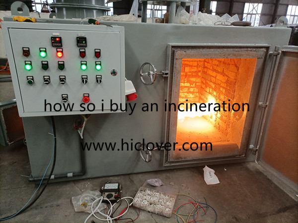 how so i buy an incineration