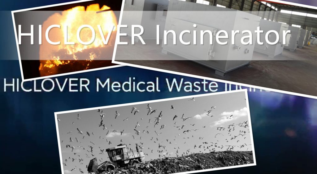 What is incinerators used in hospitals?